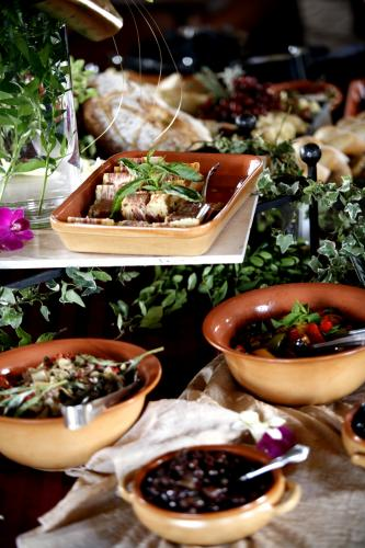 Mediterranean Themed Buffet From Arizona Catering Company Creations In Cuisine Phoenix
