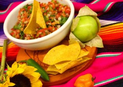 Mexican salsa from Arizona catering company, Creations in Cuisine Catering in Phoenix Arizona