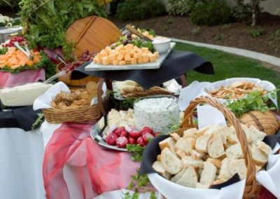 arizona event catering outdoor buffet