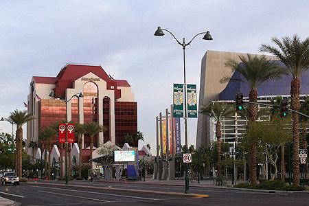 Building in downtown Mesa, Arizona.