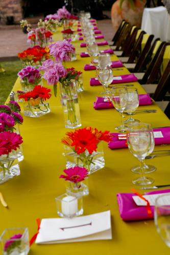 Hot Pink And Lime Green Flowers For Weddings Flowers Healthy
