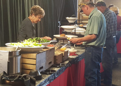 special event buffet catering at Arabian Horse Show