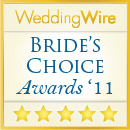 WeddingWire - Brides Choice Award 2011