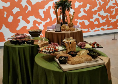 anti pesto appetizers special event catering at Phoenix Art Museum