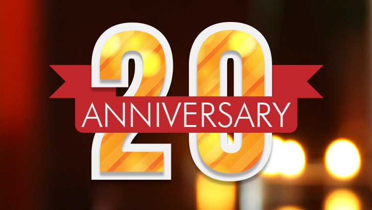 20 Year Anniversary Celebrated by Creations in Cuisine Catering
