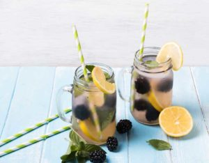 "Blackberry Lemonaide Makes Your Summertime Picnic Pucker Up and say, ""Ahhhaaa. That's refreshing!"""