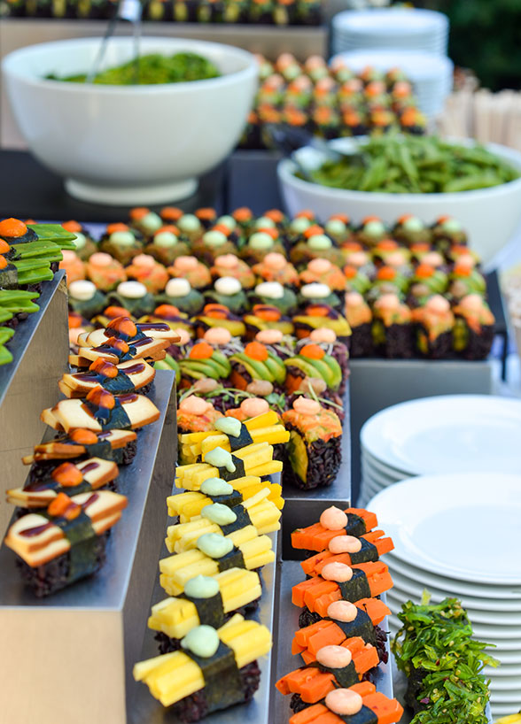 Modern Buffet Amp Food Station Catering