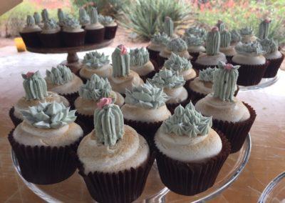 Cactus Theme Cupcakes