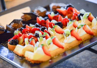 Assorted desserts platter