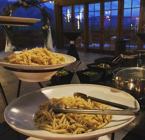 pasta service station