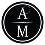 Black circle with a over an m arizona ministers logo